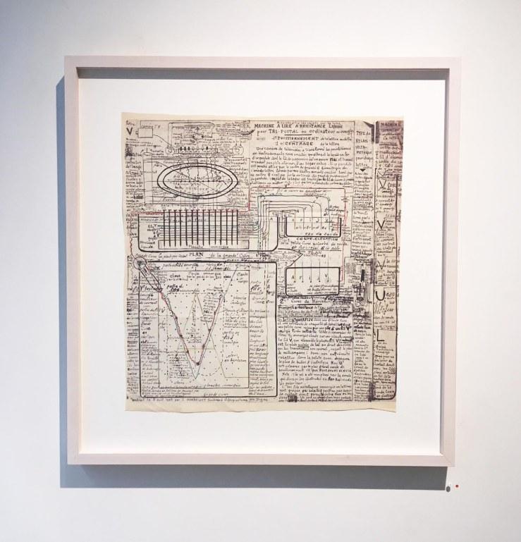 Jean Perdrizet cabestan de l'âme sémaphore, 1971, technique mixte sur papier,45,4 x 75 cm.jpg