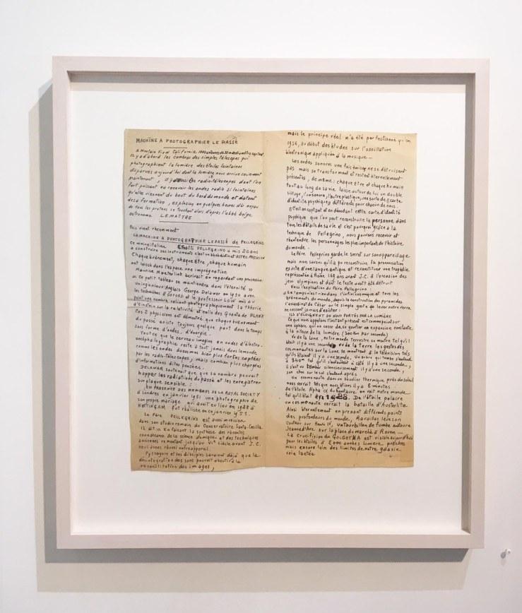 Jean Perdrizet, sans titre (machine à photographier le passé), 1970, technique mixte sur papier, 47.5 x 41.5 cm.jpg